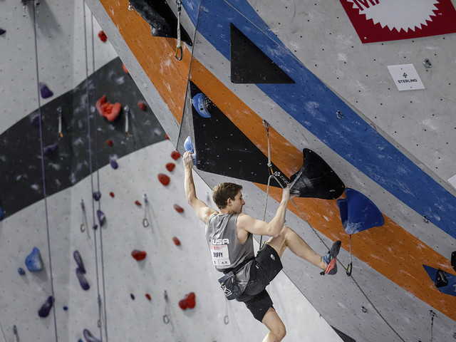 Sport climbing's Olympic debut will have a surprise element