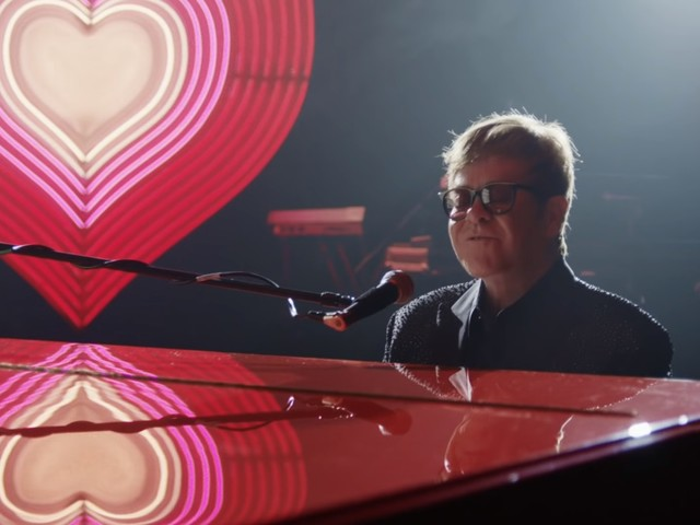 Elton John Stars In Emotional Career-Spanning Commercial