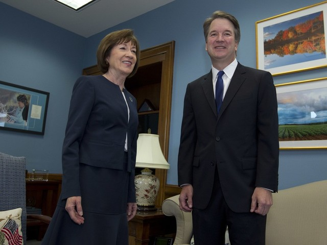 Collins feted in big-dollar California fundraiser as 'hero of the Kavanaugh confirmation'