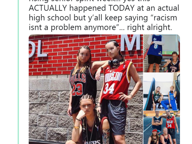Memorial HS students spark social media outrage with offensive spirit week attire