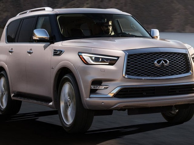 Infiniti Details 2018 QX80 Full-Size SUV, Priced From $64,750