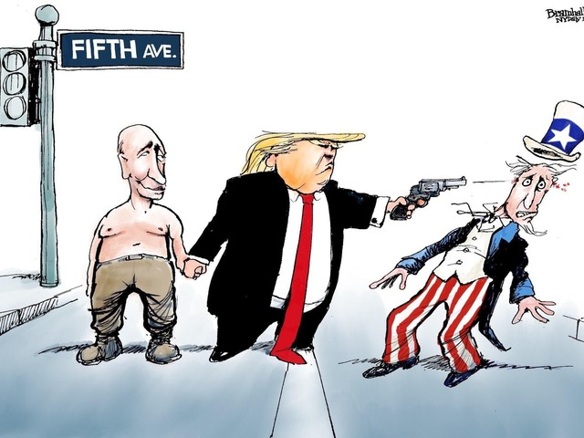 Trump on Fifth Ave