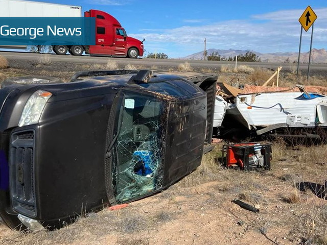 Man loses home, all his belongings in rollover near Beaver Dam