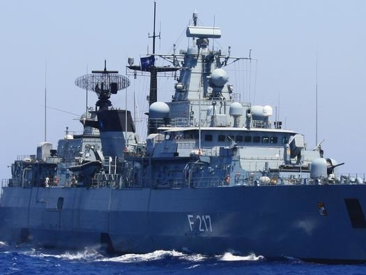 Germany Sends Warship To Contested South China Sea For First Time In 2 Decades