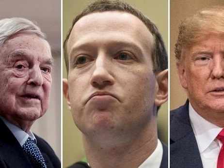 Soros Goes All In Against Mark Zuckerberg With Trump-Facebook Conspiracy Theory