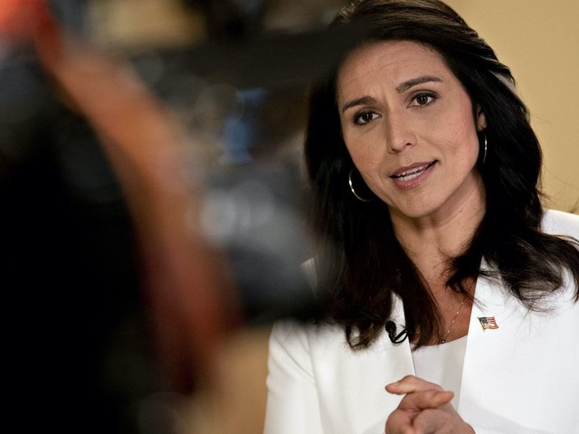 Tulsi Gabbard drops $50 million defamation suit against Hillary Clinton