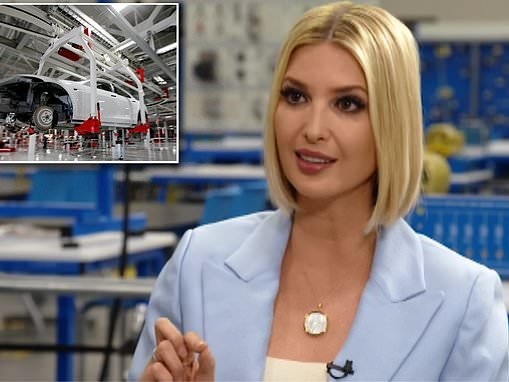 Ivanka Trump calls on private companies to prevent layoffs from automation