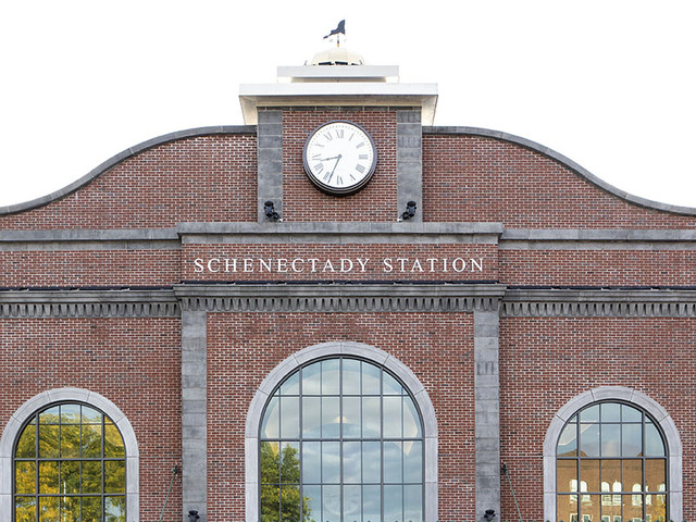 Schenectady Train Station Opens Two Weeks Early