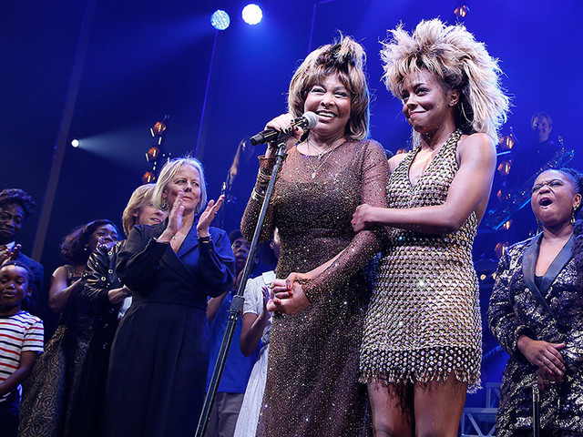 Tina Turner Joins Cast On Stage During Debut Of Broadway Musical