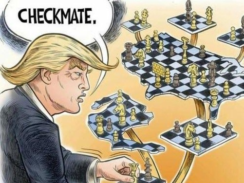Is Trump Playing 4D Chess With China?