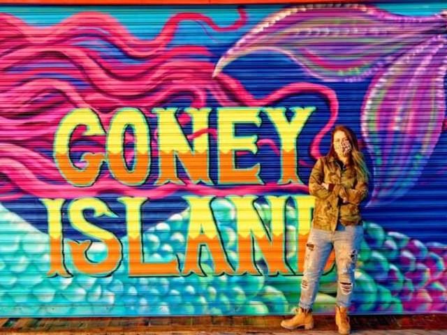 New Coney Island mural brings mermaid to the boardwalk