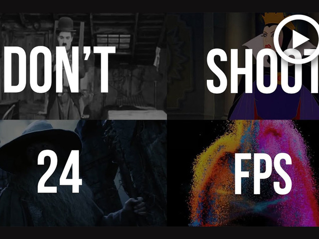 How 24fps Became the Standard & 8 Times You Should Not Use It