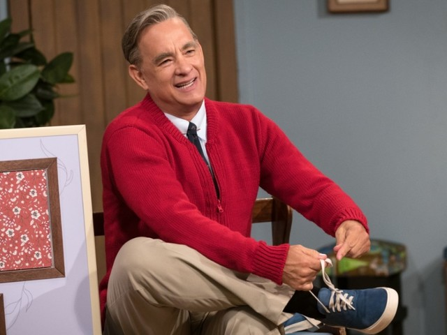 Tom Hanks Wears Some of Mister Rogers' Actual Clothes in 'A Beautiful Day in the Neighborhood'