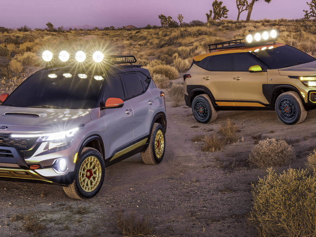 Kia Lights Up The LA Auto Show With Two Seltos Concepts