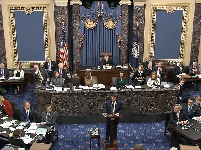 House impeachment case continues in Senate — LIVESTREAM