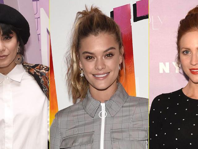 Nina Agdal, Vanessa Hudgens, & Brittany Snow Attend NYC Beauty & Fashion Conference