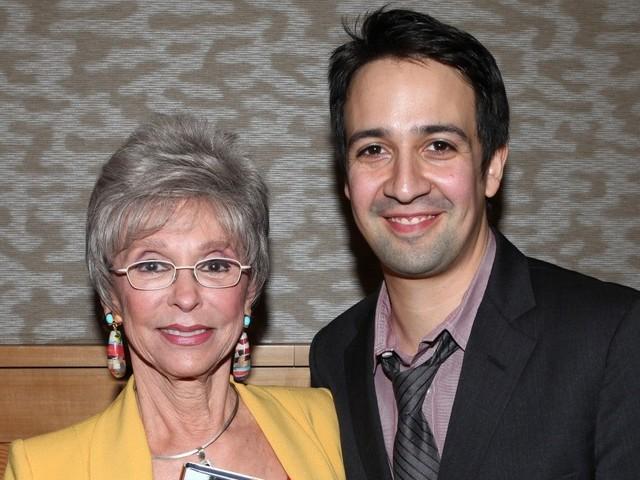 Rita Moreno defends Lin-Manuel Miranda amid 'In The Heights' criticism