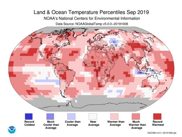 Scorching Hot Take: September Was North America's Warmest Ever