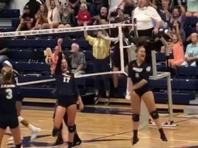 High school varsity volleyball scores: August 14