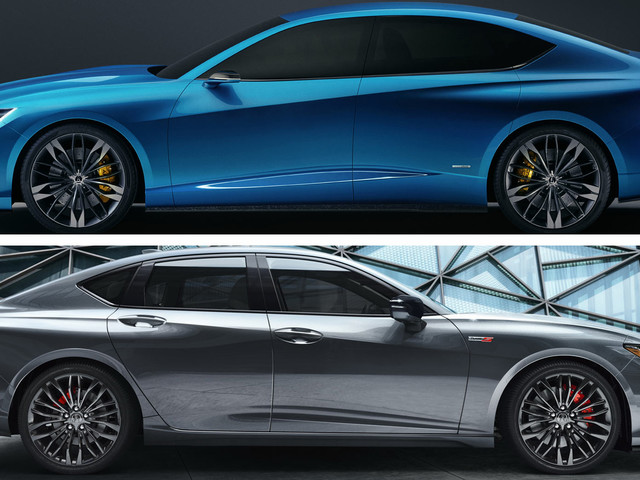 Who Wore It Better -The 2021 Acura TLX Type S Or The Original Type S Concept?