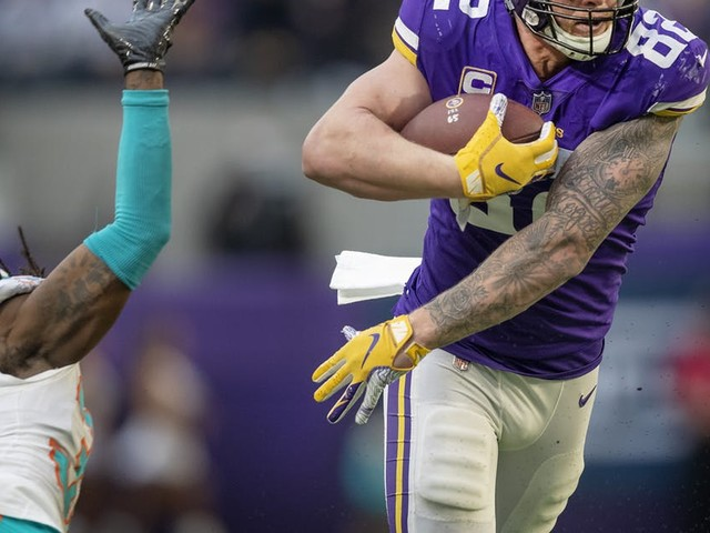 Vikings tight end Kyle Rudolph gets contract extension