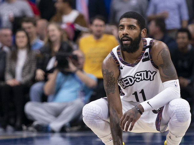 Kyrie Irving said more things that will probably make his Nets teammates mad