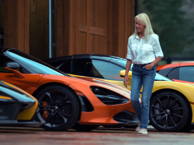 This Woman From Colorado Collects McLaren Supercars