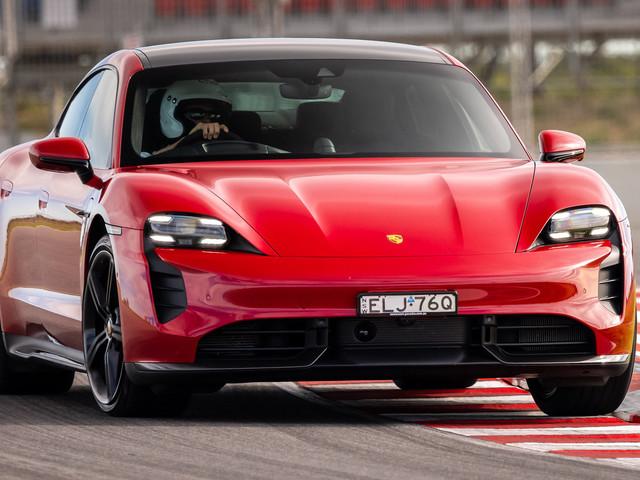 Porsche Taycan Turbo S Sets EV Lap Record At Aussie Track