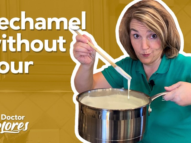 How to make keto bechamel sauce without flour — Diet Doctor Explores
