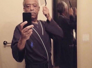 Rev. Al Sharpton's Selfie Game Is Strong + Michelle Obama Has The Ultimate Girls' Fitness Session