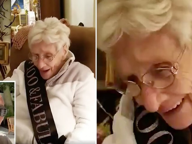 Dwayne Johnson's Birthday Video For a 100-Year-Old Grandma Is Heartwarming and Hilarious