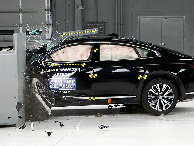 New Volkswagen car has good crash protection