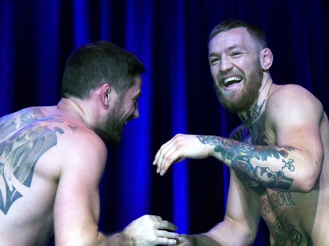 Coach Kavanagh says McGregor gets to decide how hard he wants to train