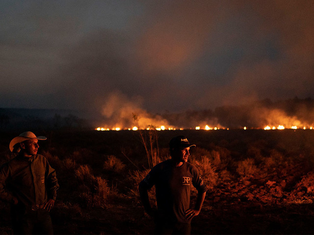 Brazilian troops deploy to fight Amazon rainforest fires