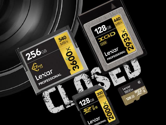 Lexar Is Shuttering | Say Goodbye to Lexar Memory Cards