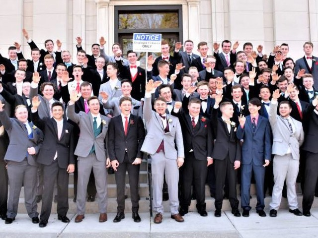 Photo of High School Boys Doing Nazi Salute Sparks Outrage