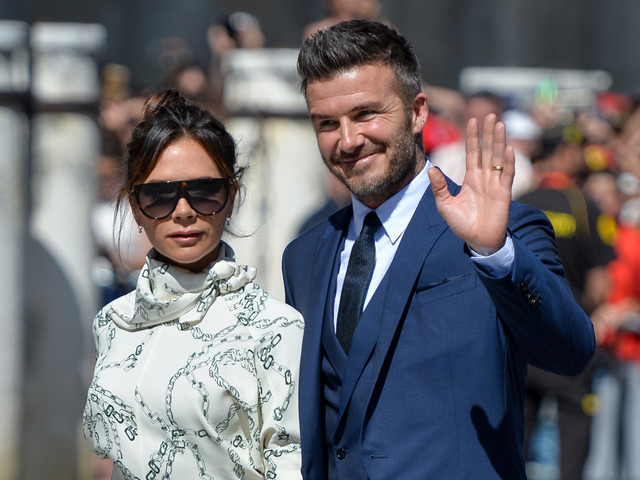David & Victoria Beckham Couple Up for Friends' Wedding in Spain