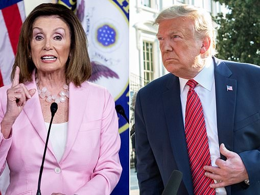 Pelosi hints at Trump impeachment if president blocks whistleblower report from reaching Congress