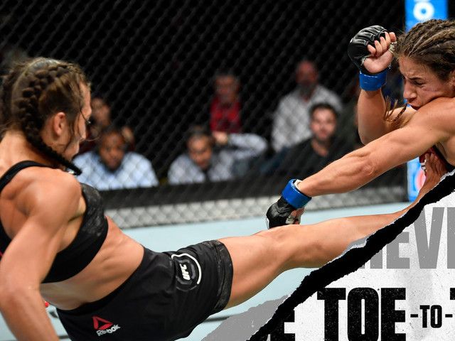 UFC Tampa: Joanna Jedrzejczyk vs. Michelle Waterson Toe-to-Toe Preview