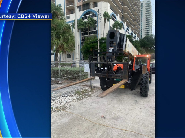 Man Dies In Crash With Forklift At Fort Lauderdale Beach