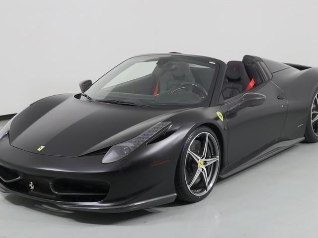 2014 Ferrari 458--Spider