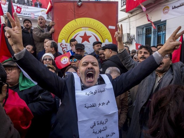 Tunisia's government is stuck between its own workers and the IMF. What's next?