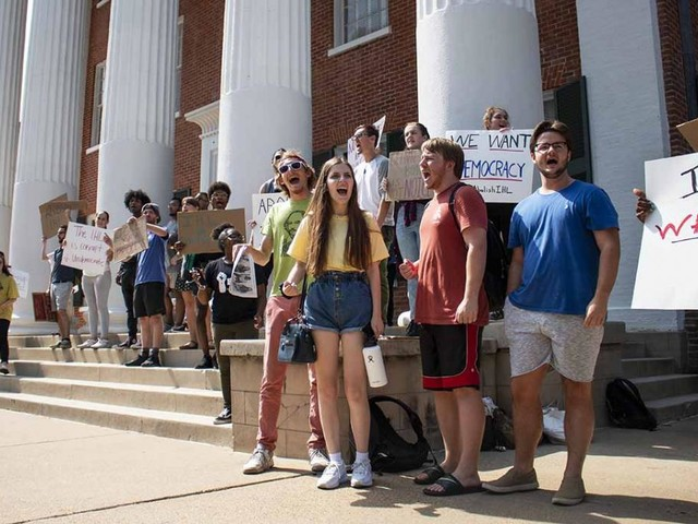 Outrage over new chancellor of University of Mississippi