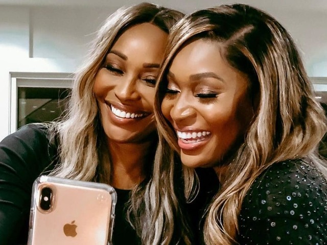 'Y'all Could be Twins': Cynthia Bailey and Marlo Hampton Look a Lot a Like In New Photo