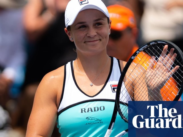 Barty within one win of regaining top spot before US Open