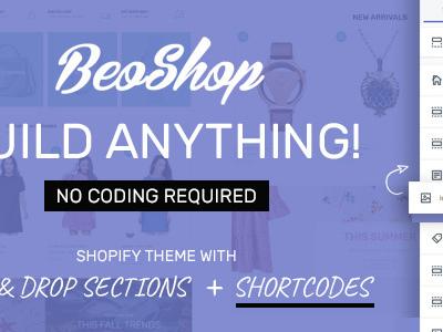 BeoShop - Drag & Drop Responsive Shopify Theme (Fashion)