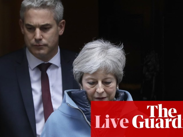 Brexit: May tells MPs she does not have enough support to win third meaningful vote – live news