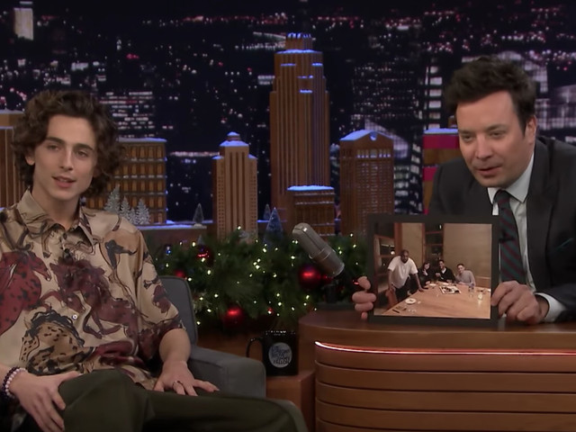 Timothée Chalamet Sent Bathroom Texts to Friends During Dinner With Cudi and Kanye
