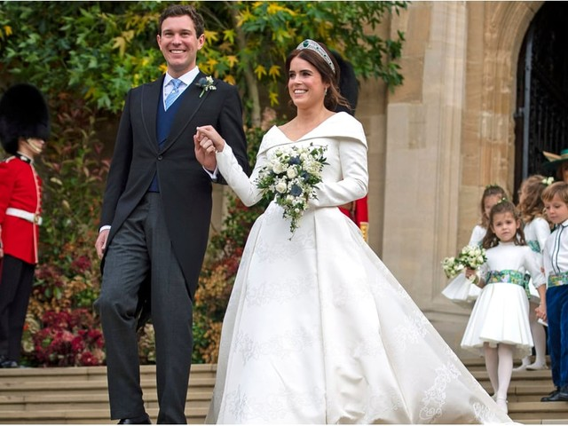 Here Comes the Bride! See Every Photo From Princess Eugenie and Jack Brooksbank's Wedding