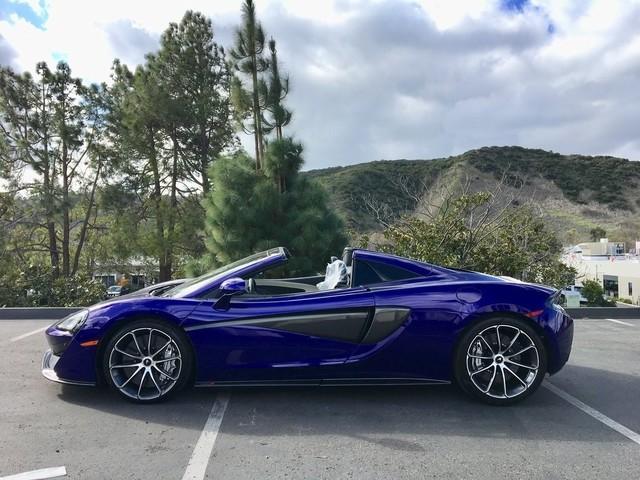 2019 McLaren 570S--Spider Base